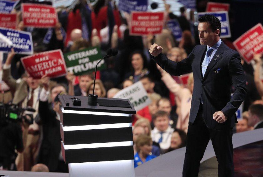 Actor Antonio Sabato Jr. at the GOP convention.