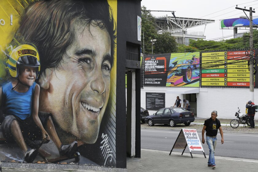 F1-BRASIL-CELEBRANDO A SENNA