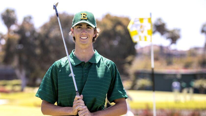 Edison's Pete DiBernardo is the Daily Pilot High School Male Athlete of the Week.