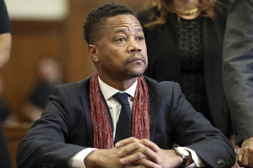 Actor Cuba Gooding Jr. appears in court in New York
