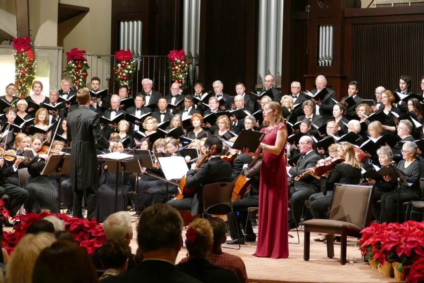 The Village Community Chorale will hold two performances of Handel's Messiah Dec. 8-9.
