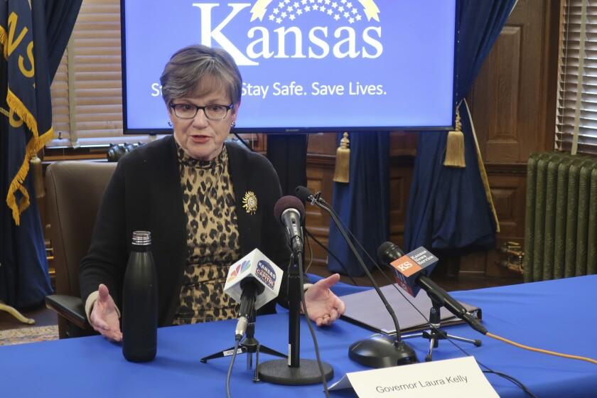 Virus Outbreak Kansas Churches Lawsuit