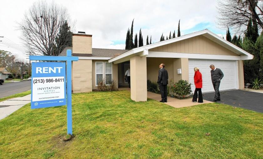 Single-family home rental