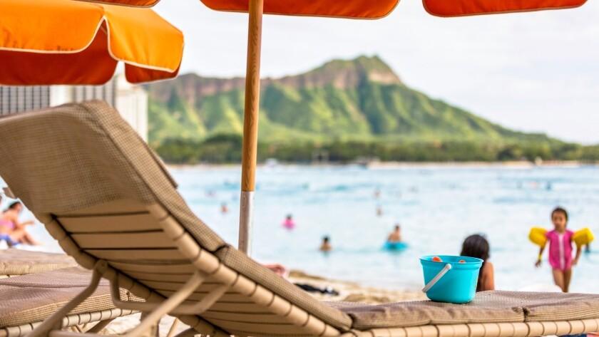 Waikiki Beach was voted Hawaii's top beach.