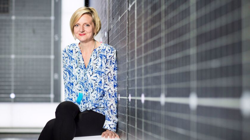 "Director Marianne Elliott of ""The Curious Incident of the Dog in the Night-Time."""
