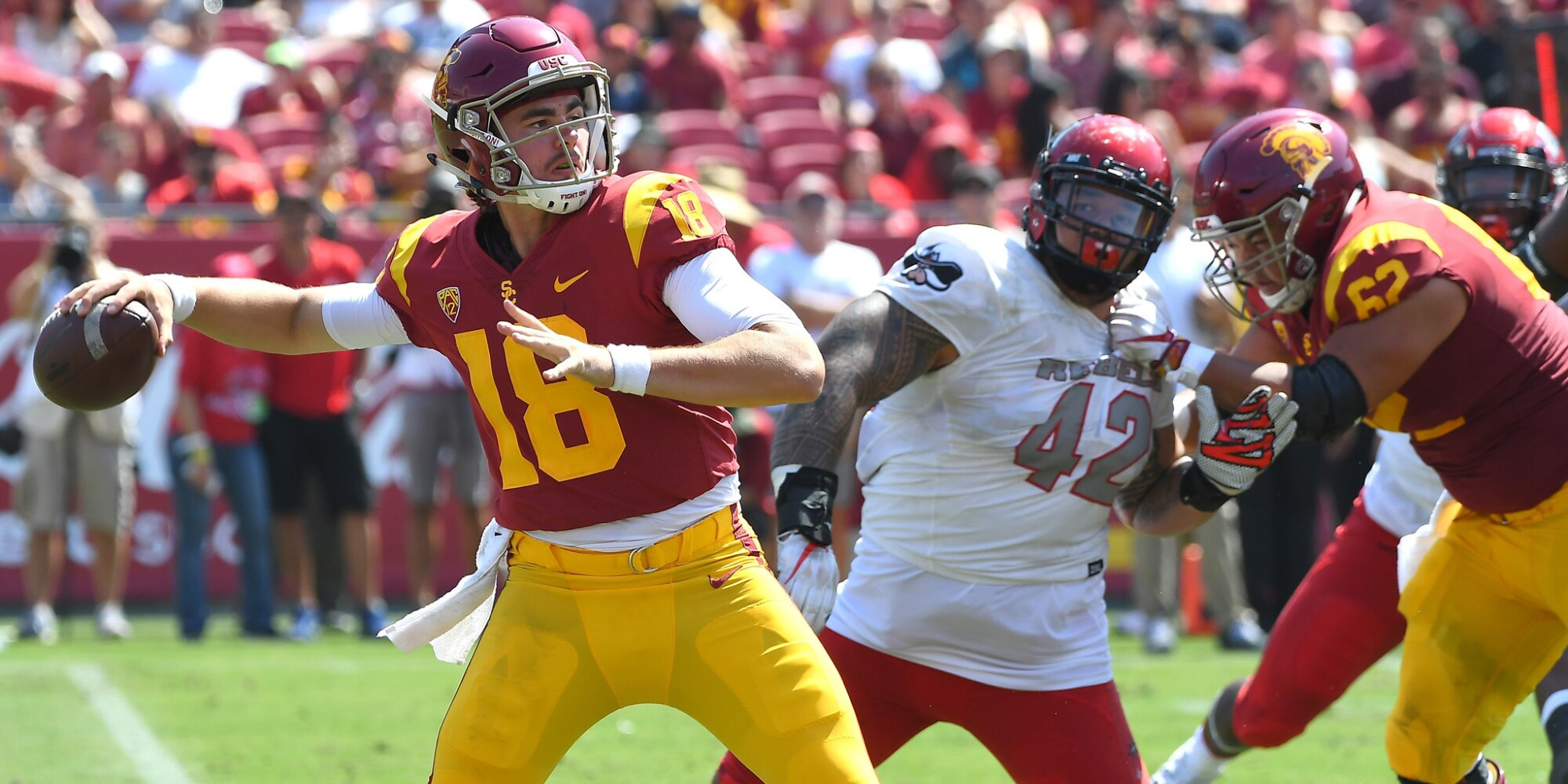 USC vs. UNLV: Trojans 43, Rebels 21 (final)
