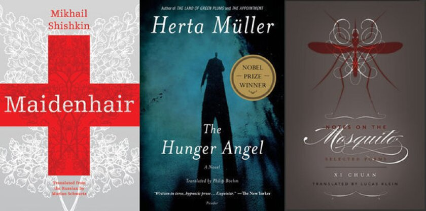 Finalists for the Best Translated Book Awards announced