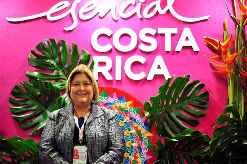 Imagen de archivo de la ministra de Turismo de Costa Rica, María Amalia Revelo. EFE/Archivo