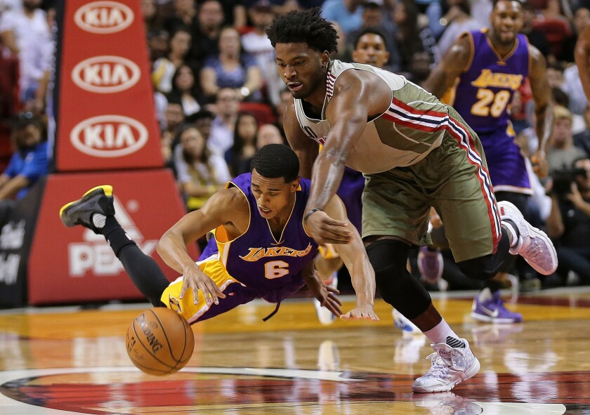 Five things learned from Lakers' 101-88 loss to Miami