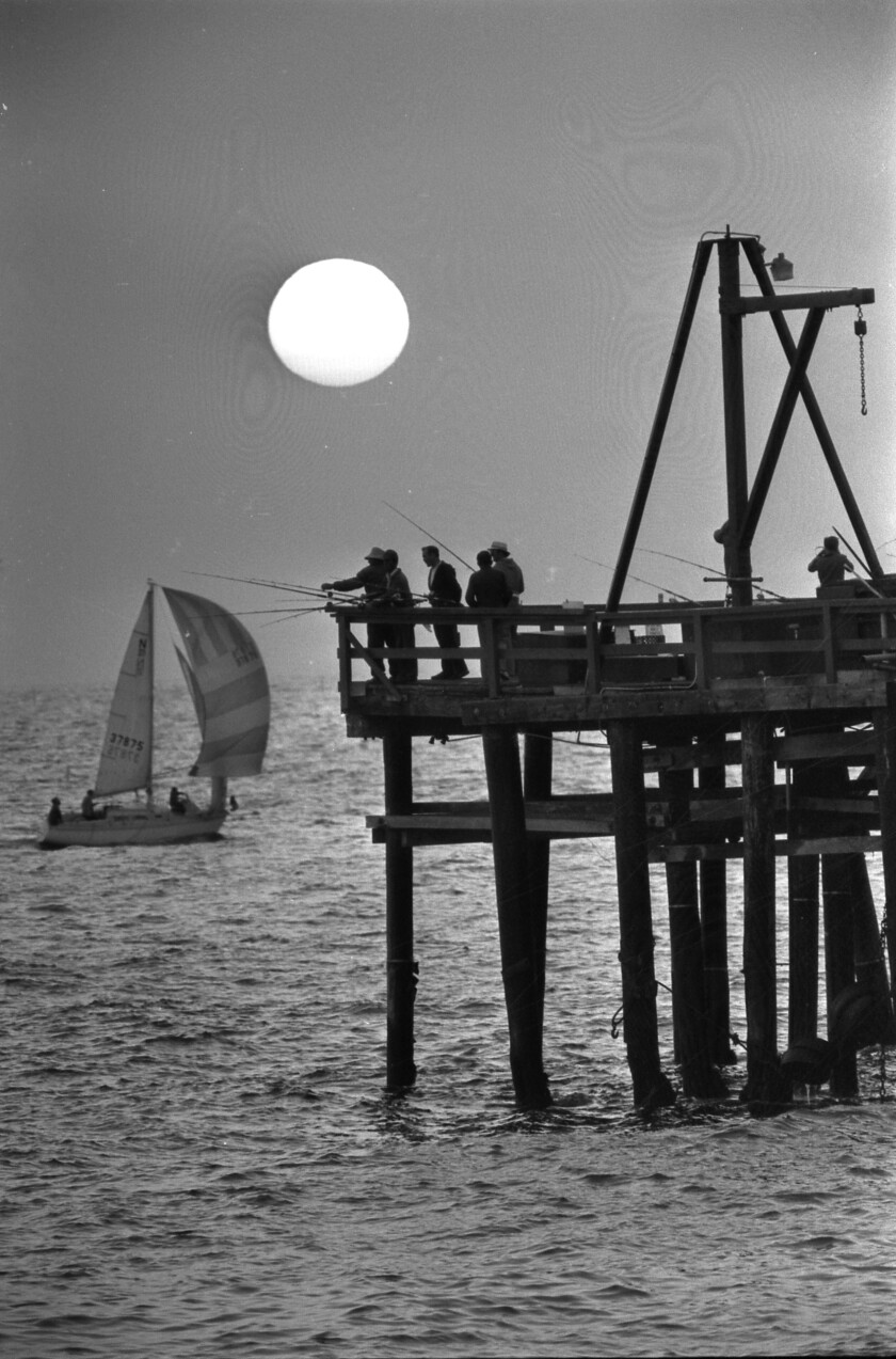 From the Archives: Sunset at Redondo Beach pier - Los