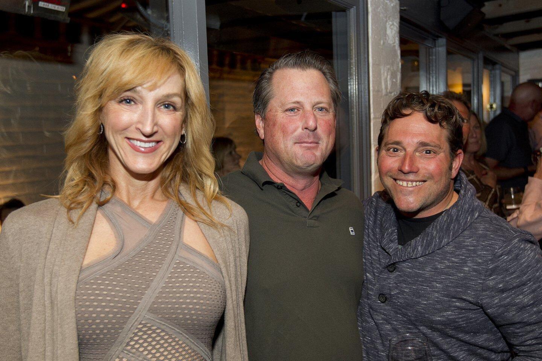 Margo Turner, Chris Henderson, Matt Hoffmann (VeloYouth President)
