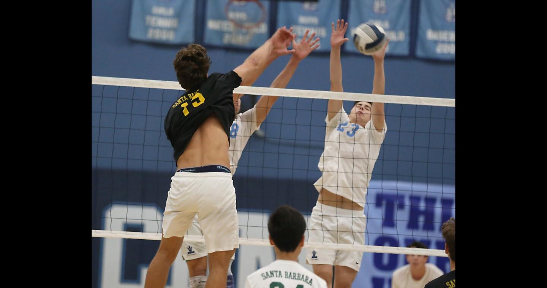 Photo Gallery: Corona del Mar vs. Santa Barbara in boys' volleyball