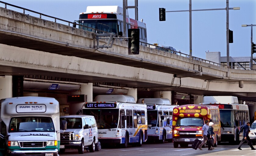 LAX FlyAway bus service to and from Santa Monica starts this week - Los  Angeles Times