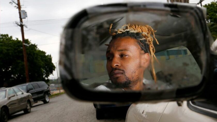 Brian Allen was giving an old friend a ride in 2017 when he was pulled over by LAPD in South Los Angeles. Months later, he ended up on CalGang, the statewide database of suspected gang members, even though he is not a gang member.