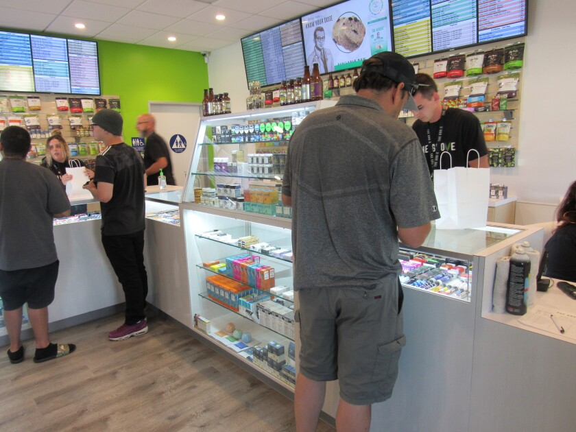 The Grove, the only legal cannabis dispensary in La Mesa, will be allowed to add another element to its sales of medical marijuana now that the La Mesa City Council has agreed to allow for the sale of recreational marijuana. More than a dozen other cannabis dispensaries are expected to be approved by the city in the near future.