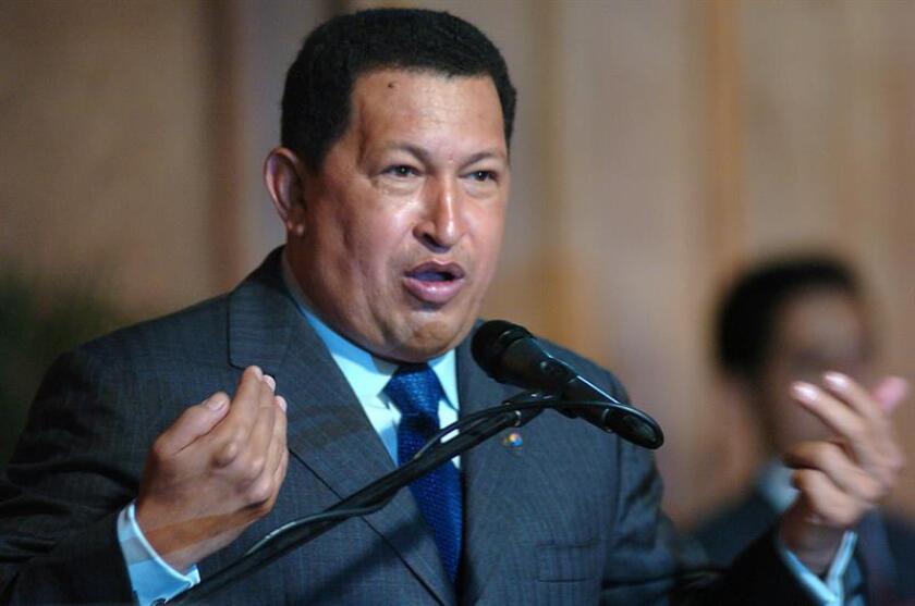 Fotografía de archivo del expresidente de Venezuela, Hugo Chávez. EFE/Archivo