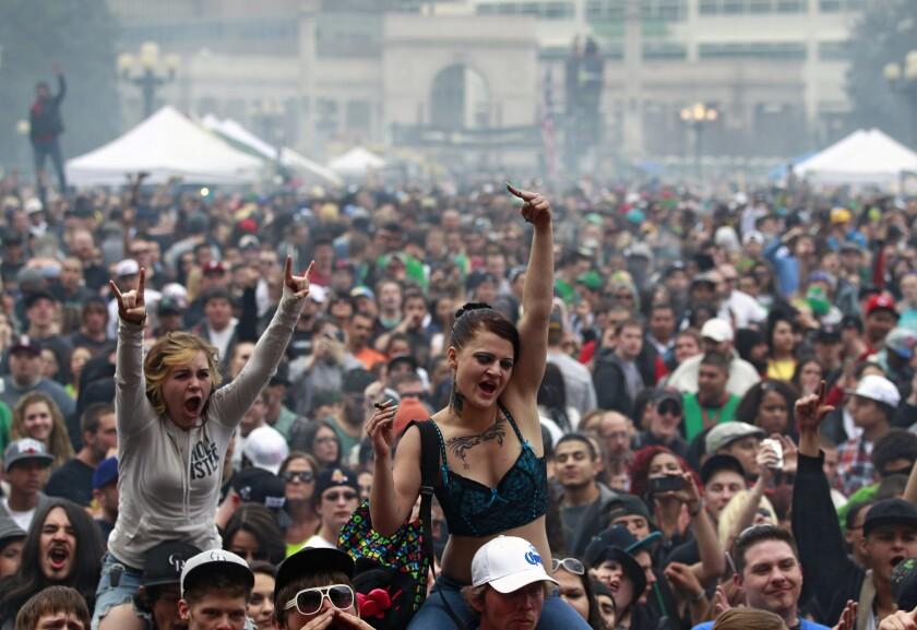 420 Rally in Denver