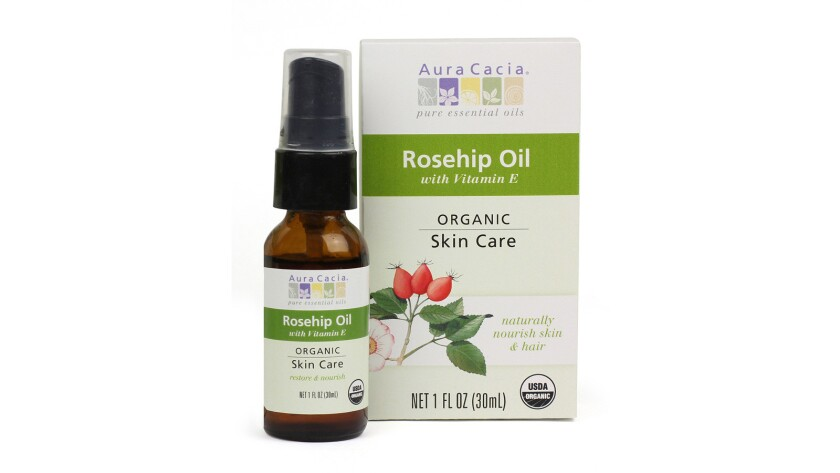 Aura Cacia Rose Absolute Essential Oil and USDA Certified Organic Rosehip S