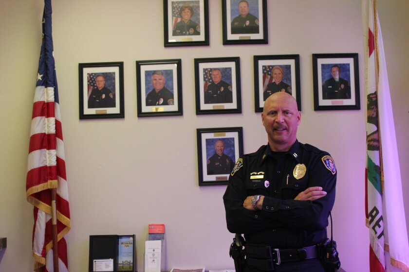 The Northern Division's newest captain, Mark Hanten, is in the same role now as his boss SDPD Chief Shelley Zimmerman was in years ago before she became Police Chief.