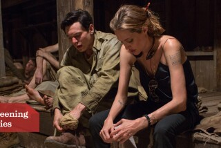'Unbroken': What's it like being directed by Angelina Jolie?