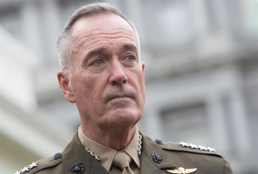 US Chairman of the Joint Chiefs of Staff Joseph Dunford. EFE/FILE/POOL