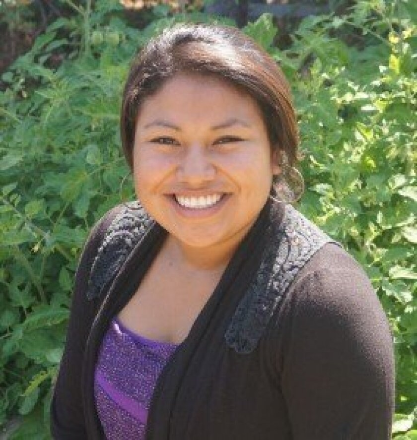 Meliza Espinoza has been named 'Youth of the Year' by the Boys & Girls Clubs of San Dieguito.