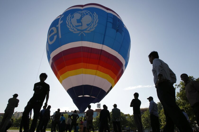 UNICEF is one of four charities contesting Ljungwe's 2008 trust. [AP file]