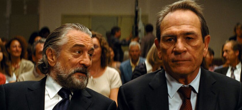 """Robert DeNiro and Tommy Lee Jones in """"The Family,"""" a Relativity Media release. The firm is expanding its presence in the Middle East market."""