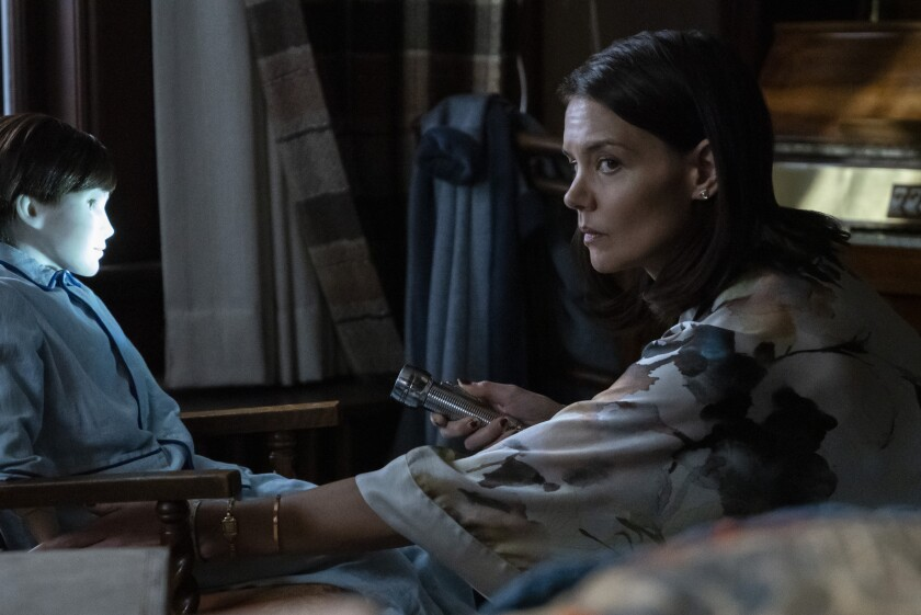Katie Holmes in the movie 'Brahms: The Boy II'