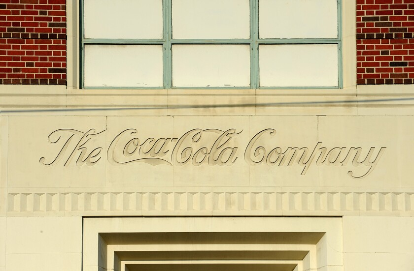 Coca-Cola recently offered employees the option of not accepting voice mail. Above, a former Coke bottling plant in downtown Los Angeles.