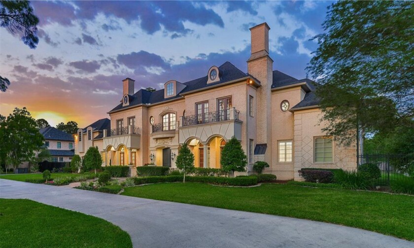 Steve Francis's Houston mansion
