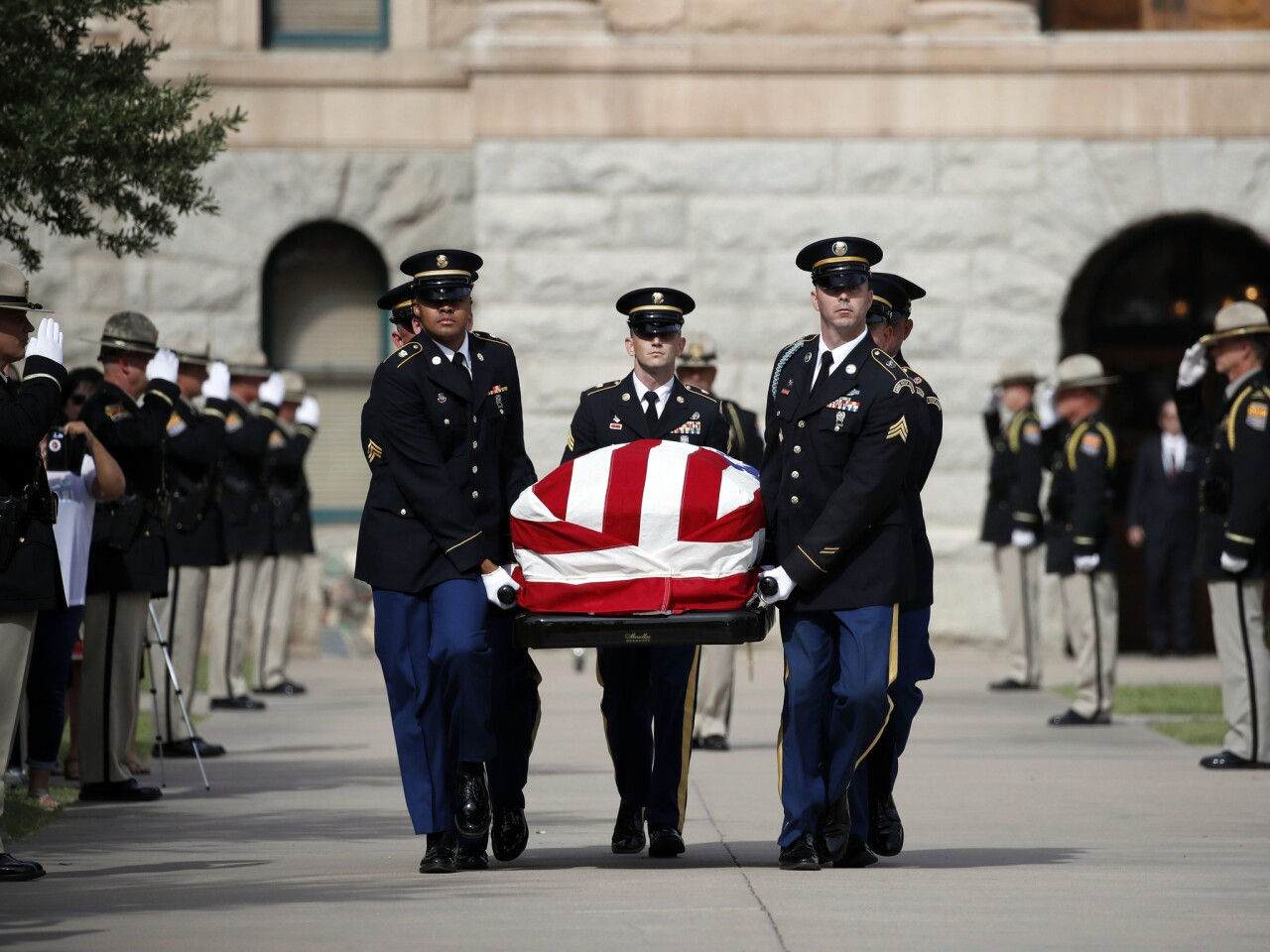 Memorial service for Sen. John McCain