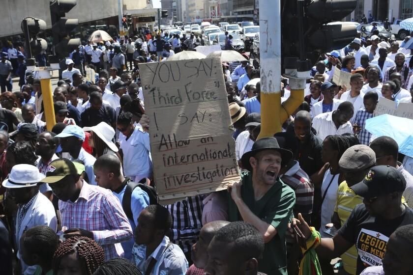 Zimbabwe Doctors Strike