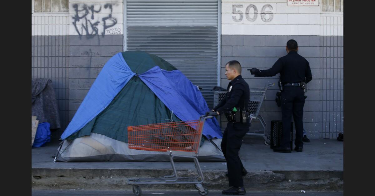 L.A.市長Garcettiが予想する将来の進捗ホームレス通話をHUD事務局長ベン-カーソン
