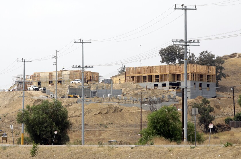 A 49-unit project for homeless and disabled veterans is under construction in Lake View Terrace this month.