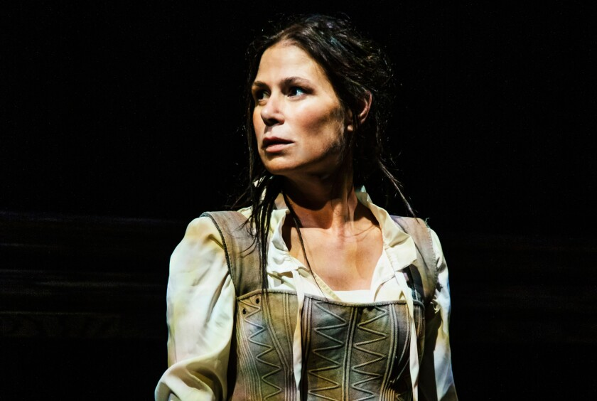 "Maura Tierney stars in ""Witch,"" a Geffen Playhouse production written and directed by women."