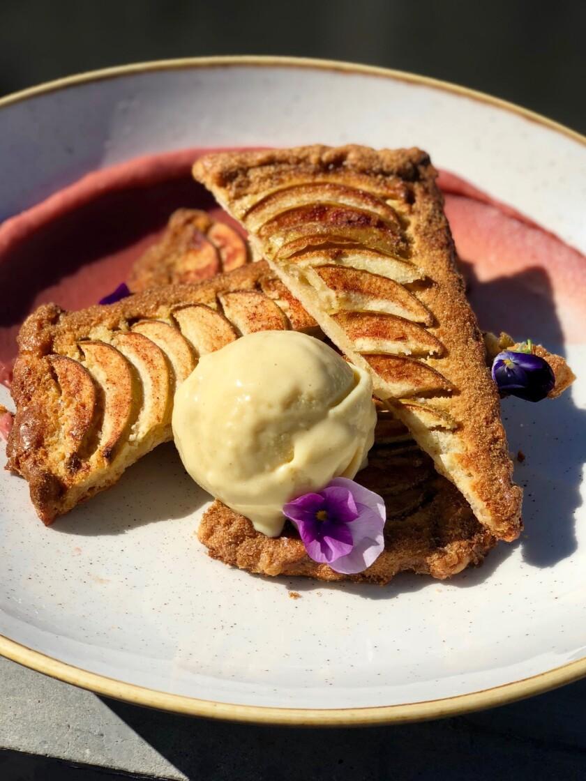 apple-almond hand pie