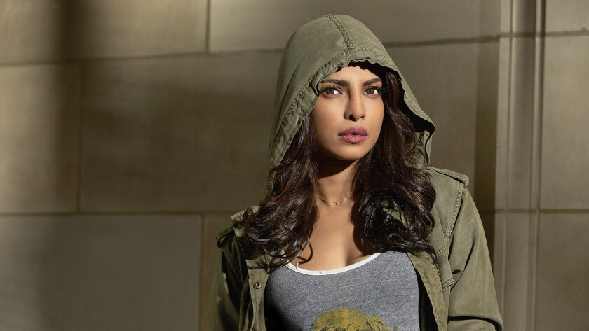 "Priyanka Chopra in the season premiere of ""Quantico"" on ABC."