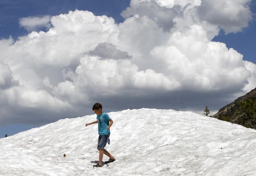 Sierra snowmelt