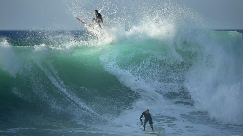 Big Winter Surf