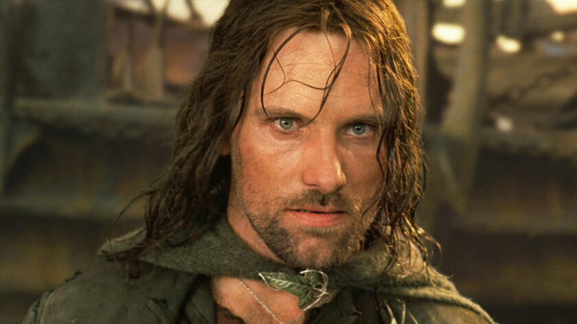 """Viggo Mortensen stars as Aragorn in the movie """"Lord of the Rings: Return of the King."""""""