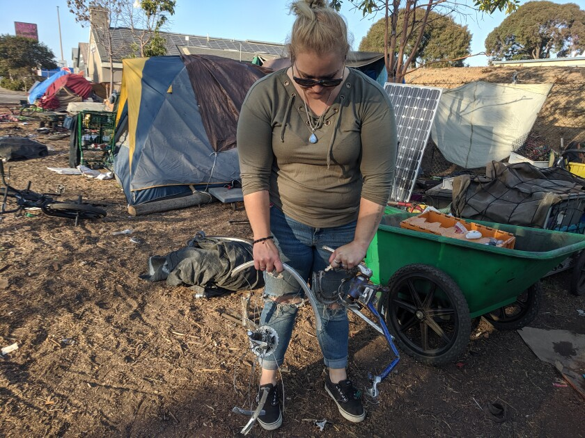As California's homeless people camp out on railroad tracks, train-related deaths are rising