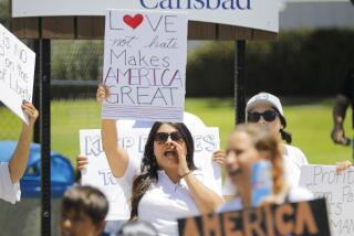 Immigration policy protests in Carlsbad nearly cancelled after permit issue