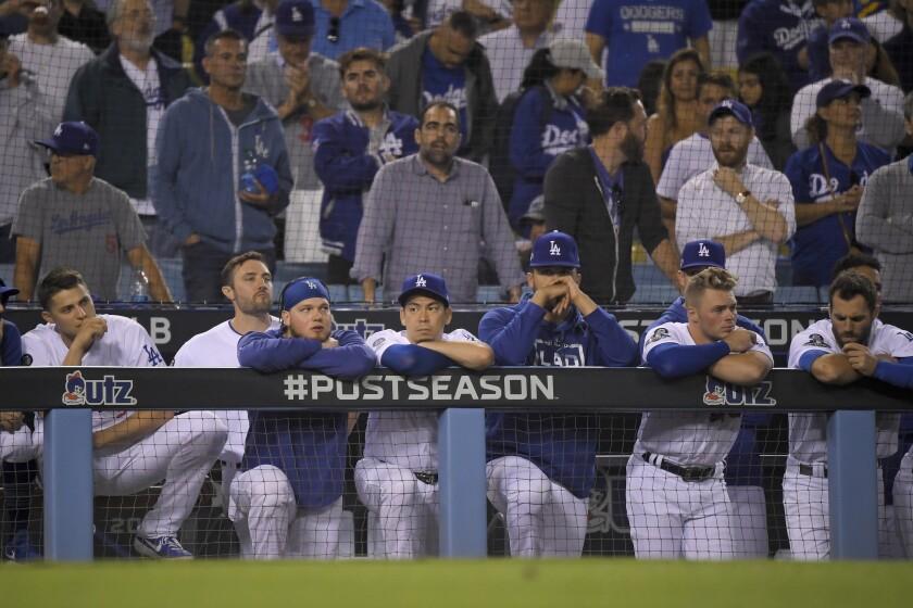 APTOPIX NLDS Nationals Dodgers Baseball