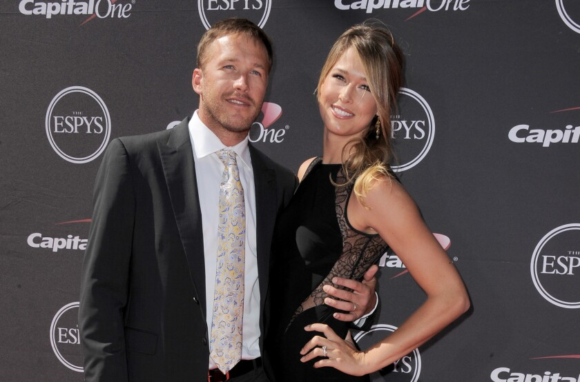 Alpine ski racer Bode Miller and his wife Morgan Miller welcomed a baby boy Friday, Oct. 5.