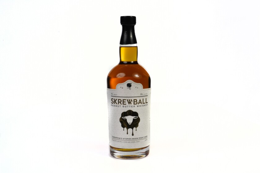 Skrewball Peanut Butter Whiskey, born in Ocean Beach, is at the center of multiple legal battles.
