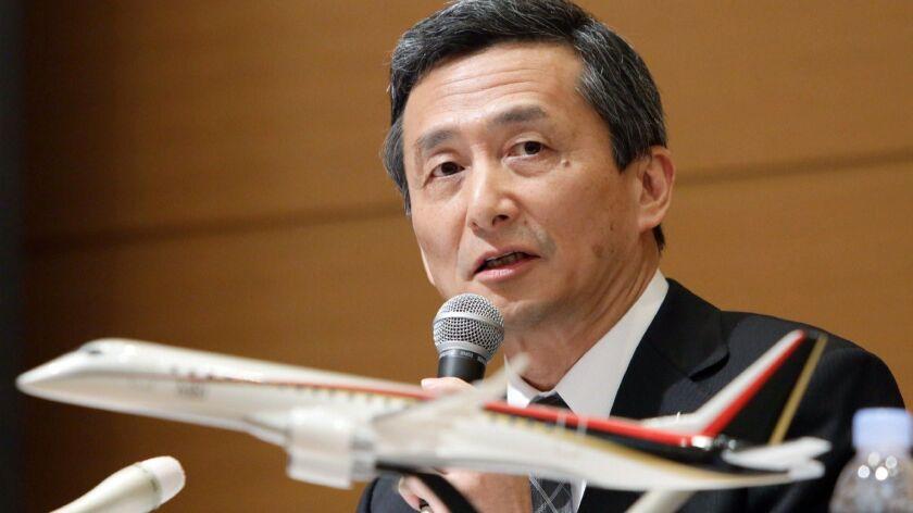 JAPAN-AVIATION-AIRCRAFT-MRJ
