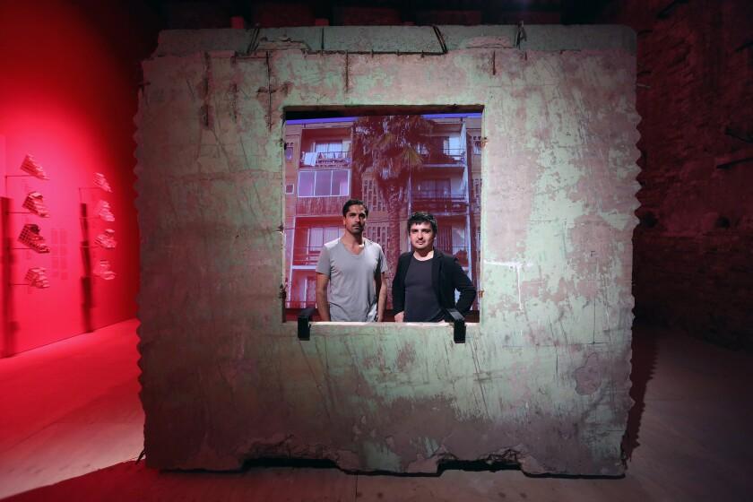 Hugo Palmarola and Pedro Alonso at the 14th Architecture Biennale