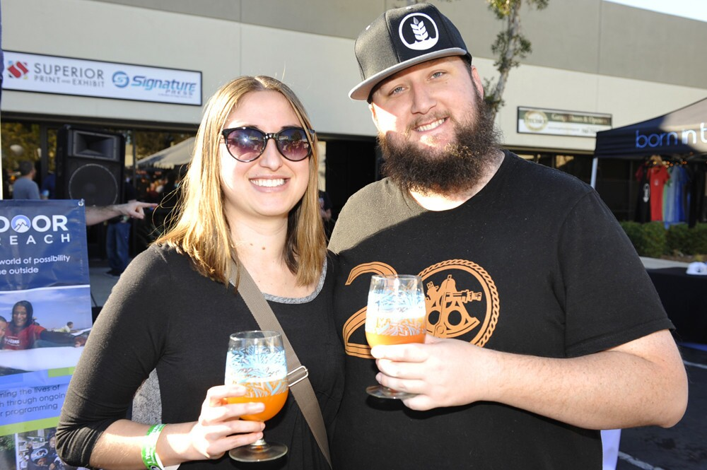 Craft brewery Pure Project in Miramar celebrated its first anniversary on Jan. 28, 2017. (Jared Gase)