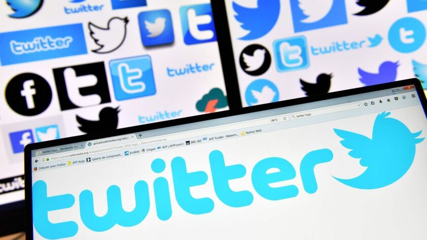 Twitter is trying to clean up its service after lawmakers berated it for failing to discover Russian influence peddling during the 2016 U.S. presidential election season.